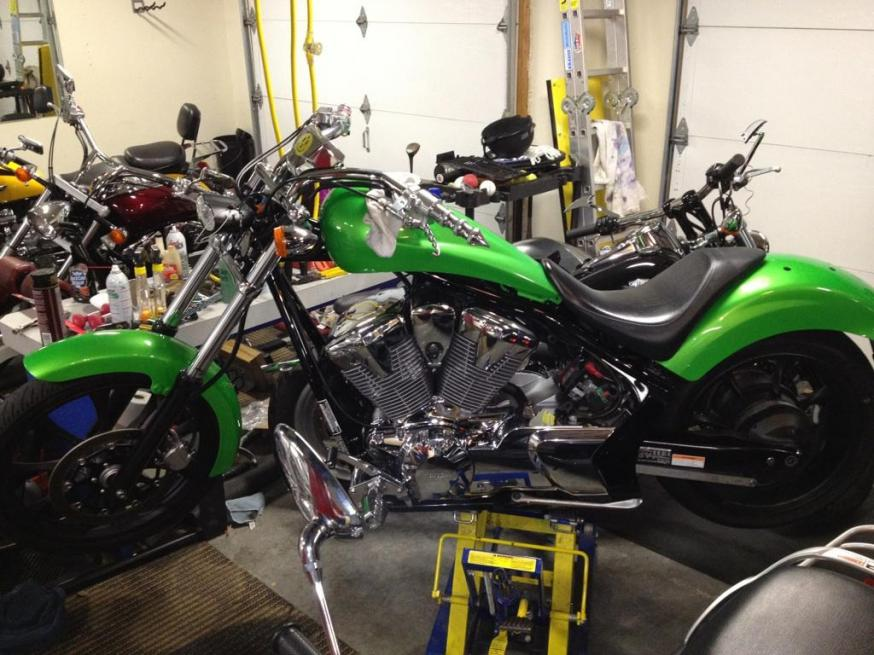 Back from paint....SYNERGY GREEN-bike-shop.jpg