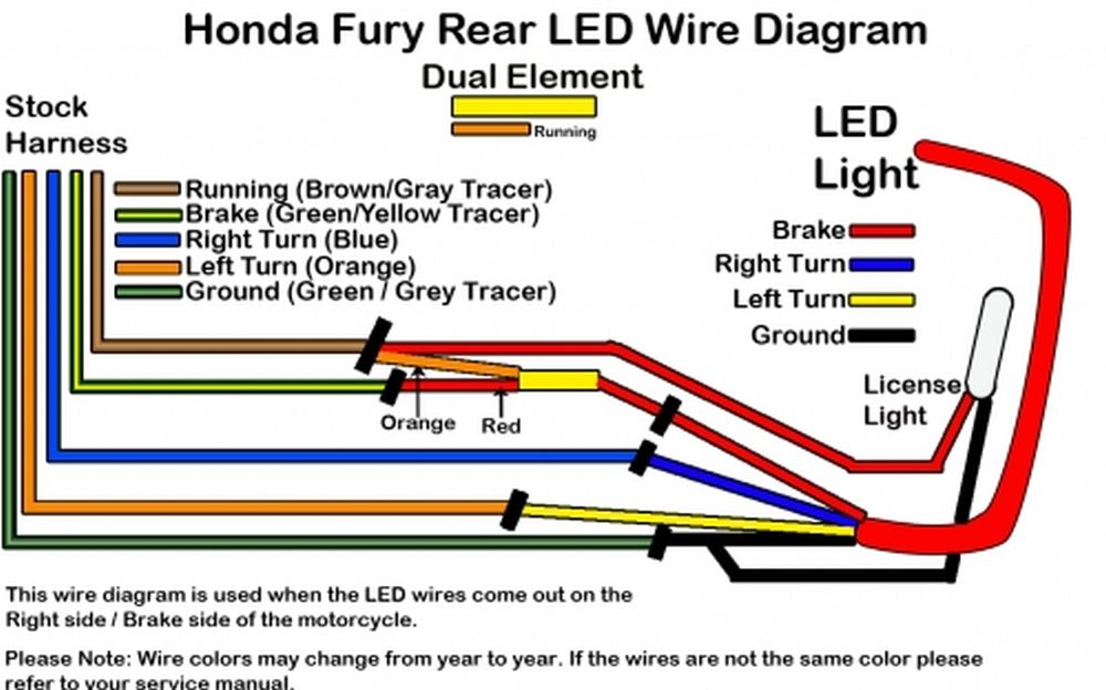 wire diagram | honda fury forums: honda fury wiring diagram 1983 honda shadow vt750 wiring diagram honda fury forums