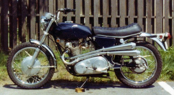 4th '69 Norton Commando SS 750 Purchased used '70, sold '77