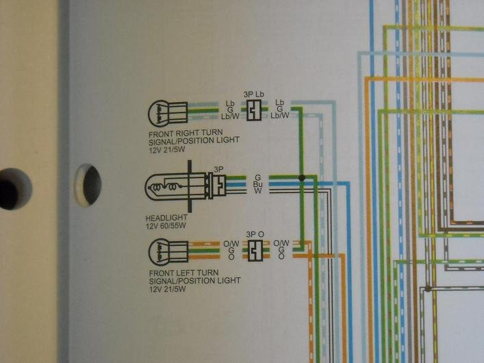 light wiring diagram | honda fury forums: honda fury wiring diagram honda shadow vt1100 wiring diagram honda fury forums