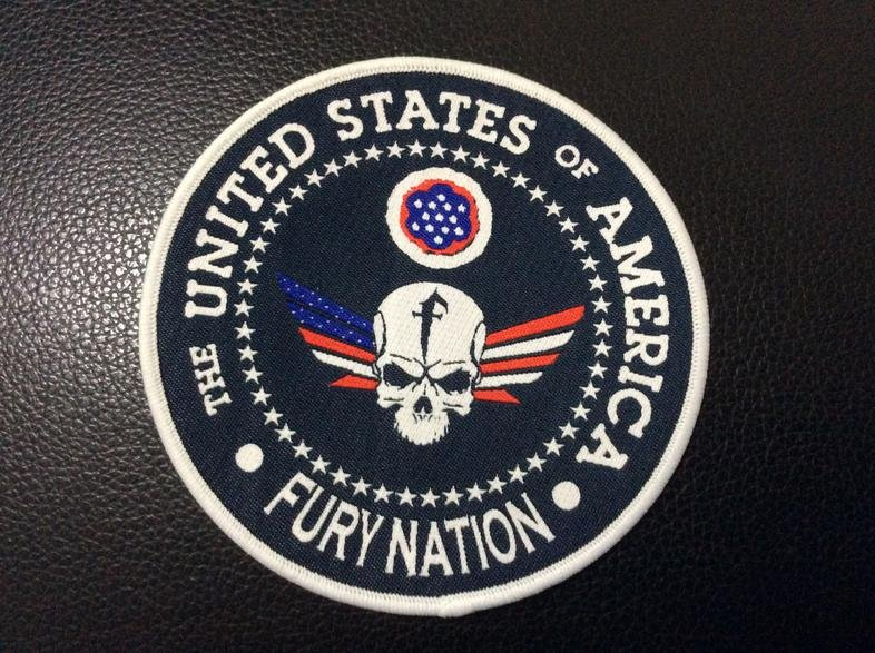 USA Fury Nation, trade goods from a member.