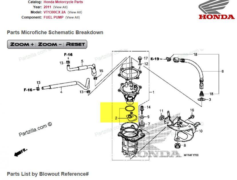 Fuel pump alert!! Eveveryone please reas | Honda Fury Forums: