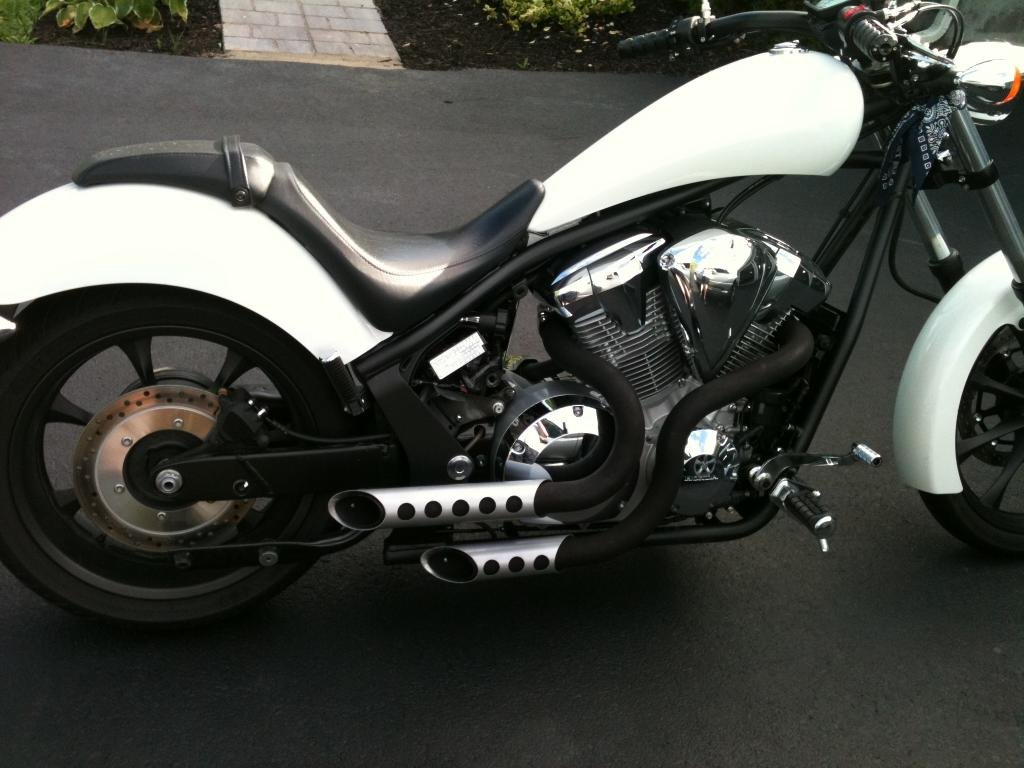 Exhaust Pic/Info Database | Honda Fury Forums: