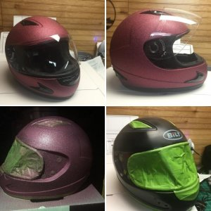 Daughter's Helmet