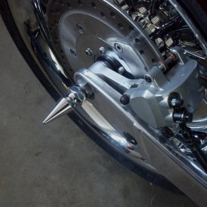 Working Class Choppers' Rear Axle Spike