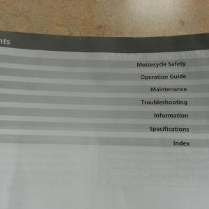 "Manual 2013 Contents  ""Operation Guide"" starts page 16, covers checking of warning lights. Not accurate info. The low fuel AND high coolant"