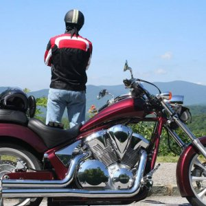 Motorcycle Heaven, NC Blue Ridge pky