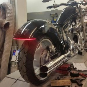 Custom Dynamics TFArray 120 led smoke run, brake, turn