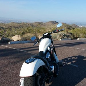Top of South Mountain in Phoenix AZ.