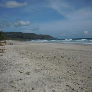 beach near Montezume, CR