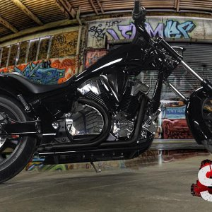 Honda Fury SLK-Customs Exhaust