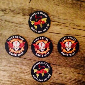 FURY POKER CHIP's for the Fury Nation