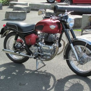 1st '60 Royal Enfield Constelation 700 Purchased used '61, sold '63