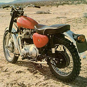 3rd 1964 Norton 750 G15 Scrambler Roadholder Forks and Matchless Frame Purchased used '65, sold '67