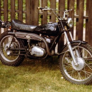 5th '73 Yamaha DT-360 Purchased used '75, sold '78 These small 'eduro' motorcycles taught me more riding skills playing in the dirt than any street bi