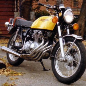 7th '75 Honda CB400 Purchased used '77, sold '80