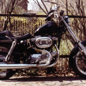9th '70 HD XLCH Sportster 883 Purchased used '80, sold '80