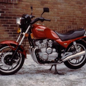 11th '81 Yamaha SECA 750 Purchased new '81, sold '85