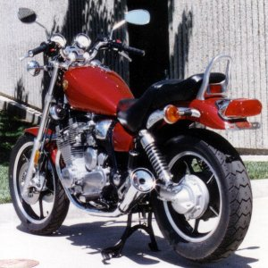 12th '85 Yamaha Maxim 700 Purchase new '87, sold '89