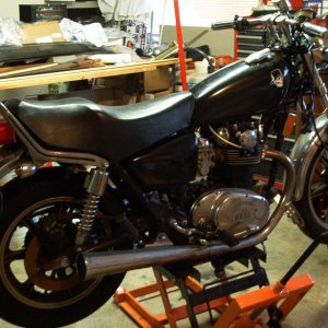 "Yamaha XS650 ""before"""