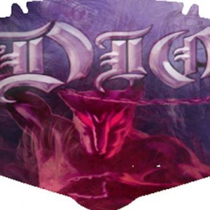 dio   holy diver NEW PURPLE ARTWork sample plate